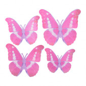 KÄRESTA Decoration, set of 4, pink - 202.997.73