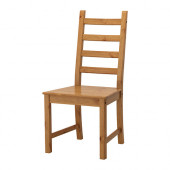 KAUSTBY Chair, antique stain - 202.457.56
