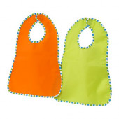 KLADD RANDIG Bib, green, orange - 301.780.06