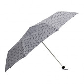 KNALLA Umbrella, foldable gray/white - 103.133.93