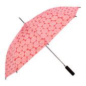 KNALLA Umbrella, red, white - 602.823.13