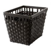 KNARRA Basket, black-brown - 302.433.18