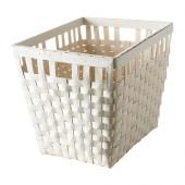 KNARRA Basket, white - 502.433.17