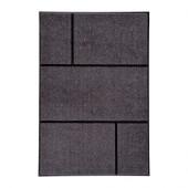 KÖGE Door mat, gray, black - 402.966.03