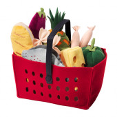 LÅTSAS 11-piece shopping basket set - 002.620.06