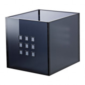 LEKMAN Box, dark gray - 102.225.81