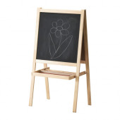 MÅLA Easel, softwood, white - 500.210.76