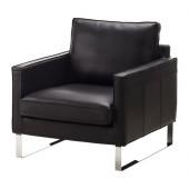 MELLBY Chair, Grann black - 302.144.10