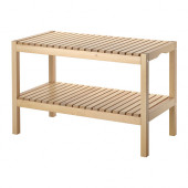 MOLGER Bench, birch - 402.414.51
