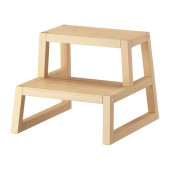 MOLGER Step stool, birch - 902.414.63