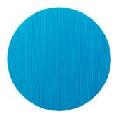 PANNÅ Place mat, turquoise - 002.362.15