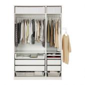 PAX Wardrobe, white - 391.284.32