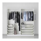PAX Wardrobe, white - 791.284.54