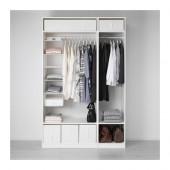 PAX Wardrobe, white - 891.284.63