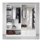 PAX Wardrobe, white - 191.284.71