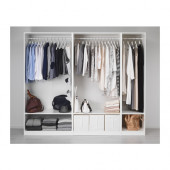 PAX Wardrobe, white - 891.284.77