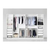 PAX Wardrobe, white - 991.283.54