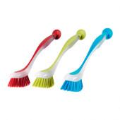 PLASTIS Dishwashing brush, assorted colors - 301.495.56