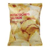 POTATISCHIPS SALTADE Salted potato chips - 201.296.72