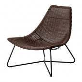 RÅDVIKEN Chair, dark brown, black - 502.954.72