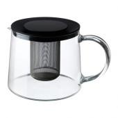 RIKLIG Teapot, glass - 901.500.71