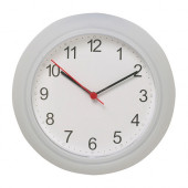 RUSCH Wall clock, white - 700.989.89