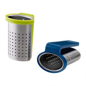 SAKKUNNIG Tea infuser, blue, light green - 602.329.69