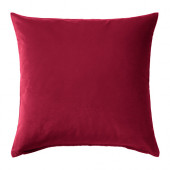SANELA Cushion cover, dark pink - 602.967.01