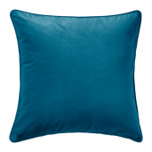 SANELA Cushion cover, dark turquoise - 202.967.03