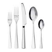 SEDLIG 20-piece flatware set, stainless steel - 201.553.12