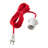 SEKOND Cord set, red textile - 902.637.18