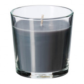 SINNLIG Scented candle in glass, Calming spa, gray - 102.363.52