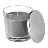 SINNLIG Scented candle in glass, Calming spa, gray - 202.759.32