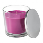 SINNLIG Scented candle in glass, Full blossom, lilac - 002.759.33
