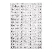 SISSELA Fabric, white/dark gray - 402.322.20