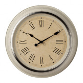 SKOVEL Wall clock, beige - 902.376.54