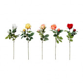 SMYCKA Artificial flower, Rose, assorted colors - 101.536.53