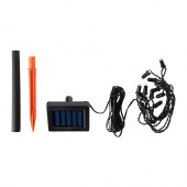 SOLARVET LED lighting chain with 12 lights, outdoor, solar-powered - 502.992.91