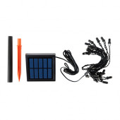 SOLARVET LED lighting chain with 24 lights, outdoor, solar-powered - 302.992.92
