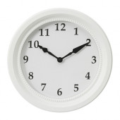 SÖNDRUM Wall clock, white - 802.887.19