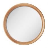 STABEKK Mirror, light brown - 602.880.89