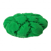 STICKAT Stool cover, green - 402.962.74