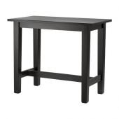 STORNÄS Bar table, brown-black - 702.176.52