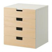 STUVA Storage combination with drawers, white, birch $99.00 - 790.289.06