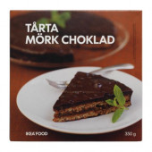 TÅRTA MÖRK CHOKLAD Almond cake/dark chocolate, frozen - 001.462.53