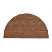 TRAMPA Door mat, half-moon, natural - 002.852.15