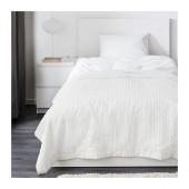 TUSENSKÖNA Bedspread, white - 002.480.15
