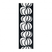 ULLASTINA Panel curtain, black/white - 202.328.86