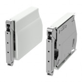 UTRUSTA Large hinge for horizontal door, white - 402.794.77