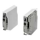 UTRUSTA Small hinge for horizontal door, white - 902.657.36